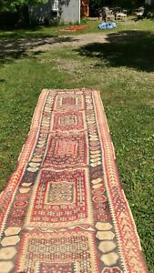 Turkish Kilim Rug Vintage