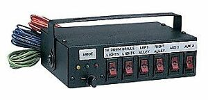 Sho me Able2 Lighted 6 Six Position Switch Box Control Panel W legends 05 6000