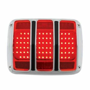 1965 1966 Ford Mustang Led Tail Light Assembly W Housing 65 66