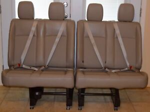 2012 2019 Nissan Nv Van Rare 4th Row Passenger Seats Oem 2nd 3rd Row Leather Euc