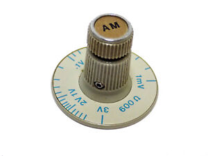 Hp 8640b Audio Output Level Knob Assembly Modulation 0 100 For Signal Generator