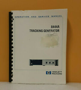 Hp 08444 90035 8444a Tracking Generator Operating And Service Manual