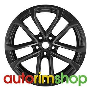 Chevrolet Camaro 2012 2013 2014 2015 20 Factory Oem Front Wheel Rim Black