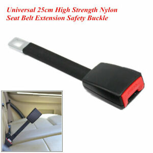 High Strength Nylon Car Suv Seat Belt Extender Extension 25cm Safety Buckle Clip
