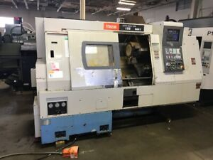 1997 Mazak Sqt15 s Cnc Lathe Turning Center With Sub Spindle Video