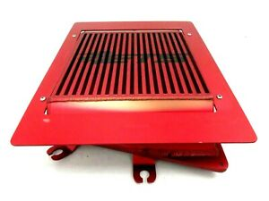 2010 2013 Mazdaspeed Mazda 3 Speed Ets Top Mount Intercooler Tmic Red Anodized