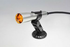 Shift Light Holley Sniper Stand Alone Obd ii Silver Housing Yellow Leds Compact
