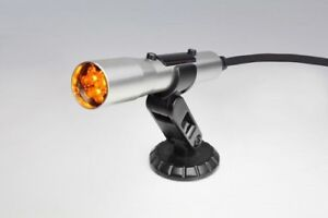 Shift Light Holley Sniper Stand Alone Silver Housing Yellow Leds Compact Size
