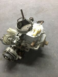 Carburetor Carter Bbd 2 Bbl 1982 1991 Amc Jeep 4 2l 258 Stepper Motor Cj
