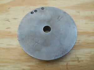 Dumore Tool Post Grinder Pulley No 4 4 Dia 1 2 Bore 3 4 W