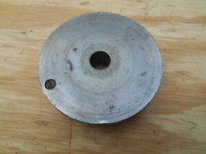 Dumore Tool Post Grinder Pulley No 4 3 Dia 1 2 Bore 13 16 W