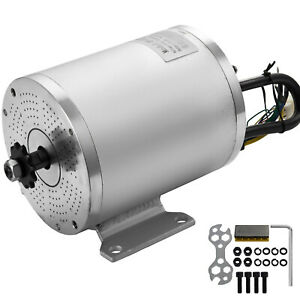 60v Dc Brushless Electric Motor 2000w 5600rpm Scooter Go kart 11 Tooth Atv