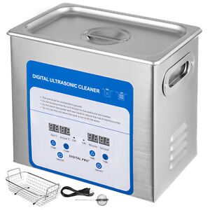 3 2l 316 Stainless Steel Variable Frequency Ultrasonic Cleaner Ball Basket