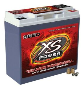 Xs Power Battery S680 S Series Agm Battery 320 Cranking Amps 12 V Each
