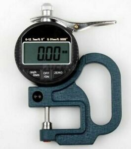 New Precision Digital Thickness Gauge micron 0 001 12 7mm