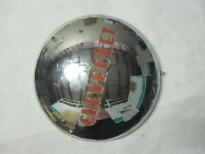 One Vintage Chevy Chevrolet Dogdish Hubcap Wheel Covers Center Cap