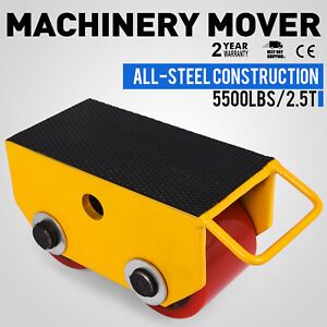 2 5t Fixed Machinery Mover Q235 Steel Powder Coating Machinery Mover