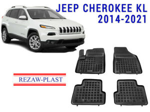 All Weather Rubber Floor Mats Set For Jeep Cherokee Kl 2014 2021