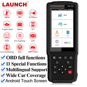 Launch X431 Obd2 Diagnostic Tool Engine Abs Sas At 11 Service Reset Code Reader