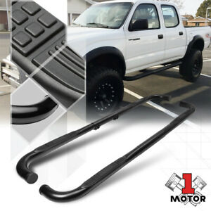 Bully Black 3 Adjustable Side Step Nerf Bar Running Board For 99 11 Chevy gmc