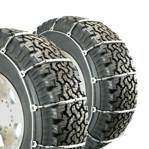 Titan Light Truck Cable Tire Chains Snow Or Ice Covered Roads 10 3mm 275 65 18