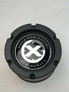 Used American Racing Atx 1515006925 Cap M 992 Black Wheel Center Cap