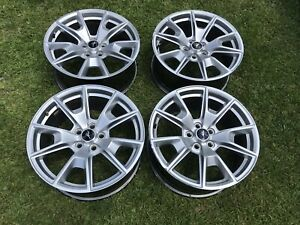 2015 2019 Ford Mustang 19 Gt Premium Silver Wheels Rims Factory Oem Set