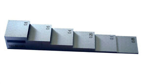 6 step Calibration Block steel For Thickness Gage inch By digiwork Canada