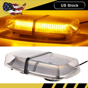 New 72 Led Emergency Flash Warning Rooftop Strobe Light Amber Car Truck 5730 Smd