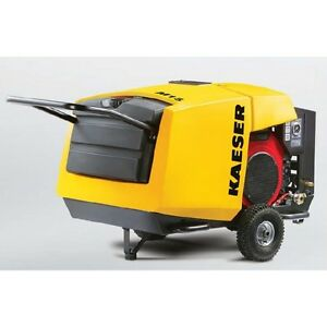 New Kaeser M17 Towable Portable Air Compressor M17 Gasoline