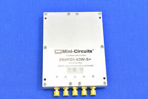 Mini circuits Zn4pd1 63w s Dc Pass Power Splitter combiner 250 To 6000 Mhz