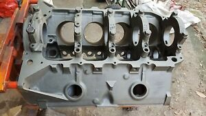 1961 62 63 Pontiac 4 Bolt Engine Block Main Caps Cast 538181 Code 3 62 P