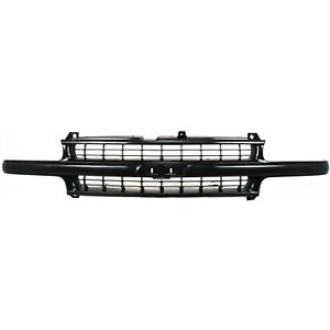 For 99 02 Silverado 1500 Ld 00 06 Suburban Tahoe Z71 Grille Paintable