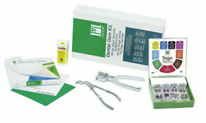 Dental Coltene Hygenic Rubber Dam Winged Complete Kit F f Shipping