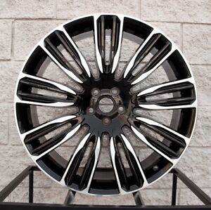 22 Wheels For Range Rover Land Rover Sport Hse Supercharged Autobiography Rims