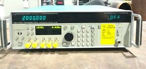 Gigatronics 6100 Synthesized Signal Generator Options 1 And 8 6100 01 8