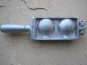 Lead Downrigger Sinker Cannon Ball Mold 1lb Weight Mold Fishing