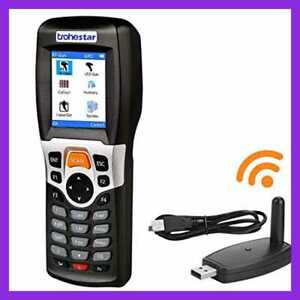 Wireless Barcode Scanner Collector Portable Data Terminal Inventory D 1d Laser