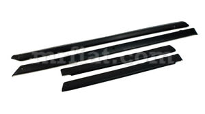 Fiat 850 Sport Coupe Series 2 Door Capping Molding Set Reproduction New