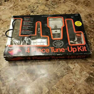 Vintage Hawk Tune up Kit 12v Dwell Tach Tester Neon Timing Light Remote Starter