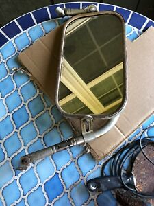 Vintage Rectangular Truck Mirror