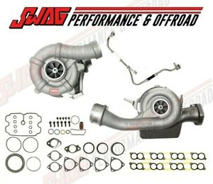 08 10 Ford 6 4 6 4l Powerstroke Diesel Borg Warner Rotomaster Twin Turbo Kit