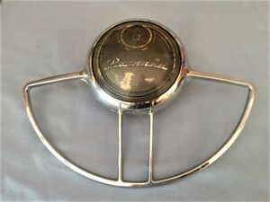 1948 49 50 Packard Steering Wheel Horn Ring And Button