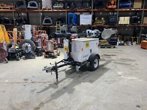 2014 Magnum Light Tower Mlt3060m Kubota Diesel 6 Kw Generator