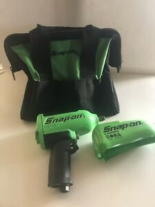 Snap on Tools Super Duty Impact Air Wrench Mg725 1 2 Drive Boot Bag