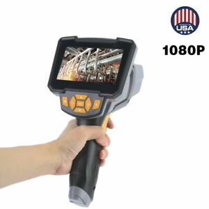 Industrial Endoscope 1080p Hd 5 64inch Lcd Digital Inspection Camera Borescope