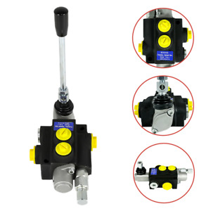 1 Spool Hydraulic Directional Control Valve Manual Operate 3600psi 13gpm