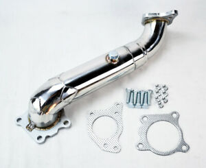Stainless Performance Exhaust Downpipe For Honda Civic 16 19 1 5l Dohc Turbo