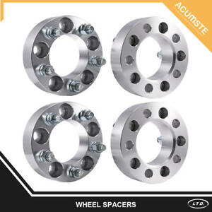 4pcs 1 5 Wheel Spacers Adapters 5x4 5 For Jeep Wrangler Cherokee Ford Ranger