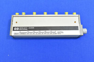Hp 33321g Programmable Step Attenuator 70db